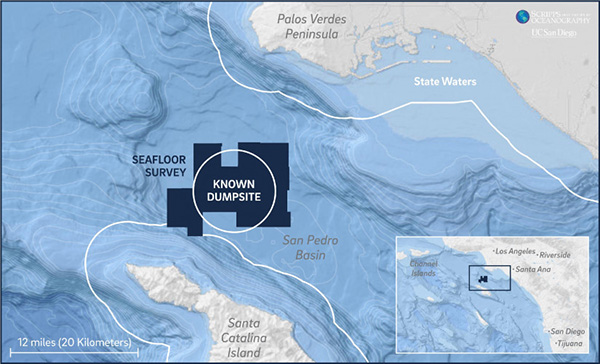 Scripps coverage of the undersea dump site