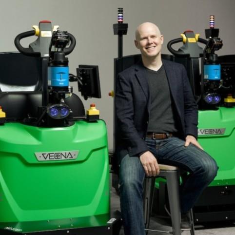 Daniel Theobald, chief innovation officer at Vecna Robotics