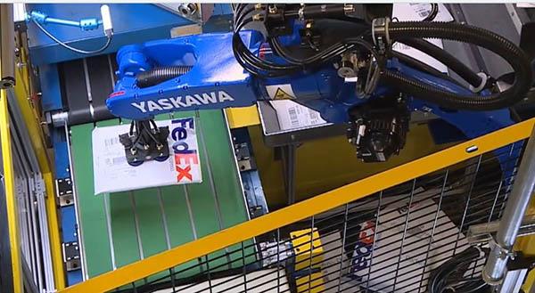 FedEx and robotics
