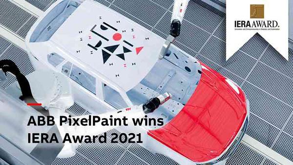 ABB PixelPaint wins IERA Award 2021
