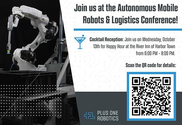 Plus One Robotics at A3 AMR & Logistics Conference