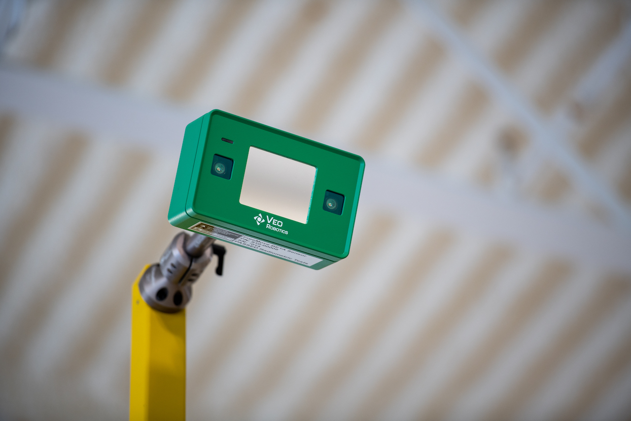Veo's sensor is manufactured in Germany and validated in the U.S.