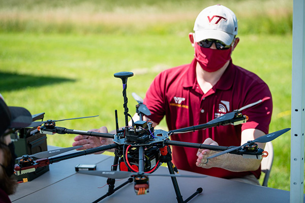 Virginia Tech IPP drones