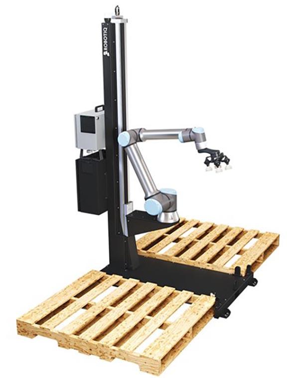 UR+ partner Robotiq and palletizing system