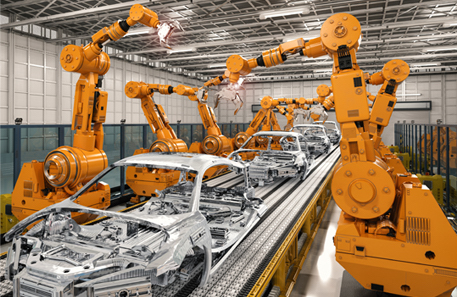 Industrial automation in automotive assembly